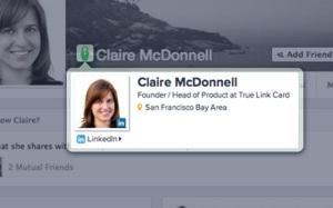 Facebook LinkedIn Mashup